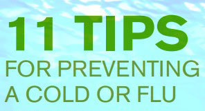 11 Tips for Preventing Cold and Flue