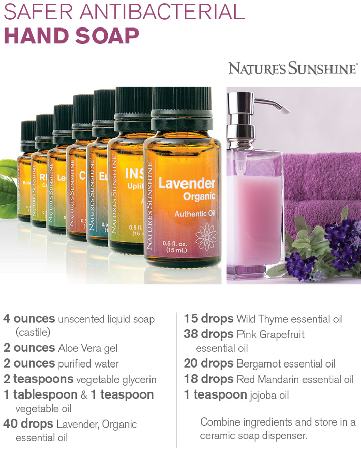 Lavender Essential Oil Hand Soap