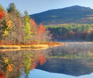 Mount Monadnock in Autumn