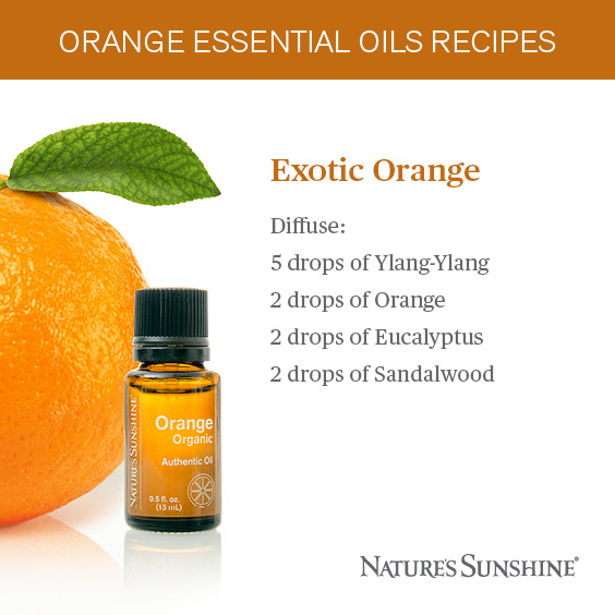 Exotic Orange Essential Oil Recipe