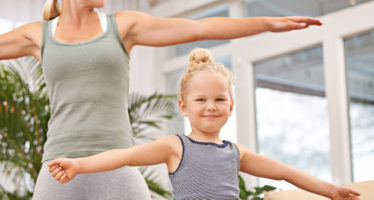 Mother Daughter Exercise