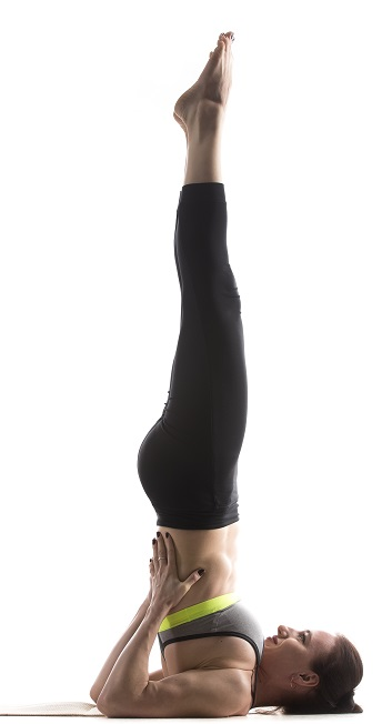 Supported Shoulderstand pose