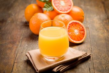 Orange Juice on table in glass